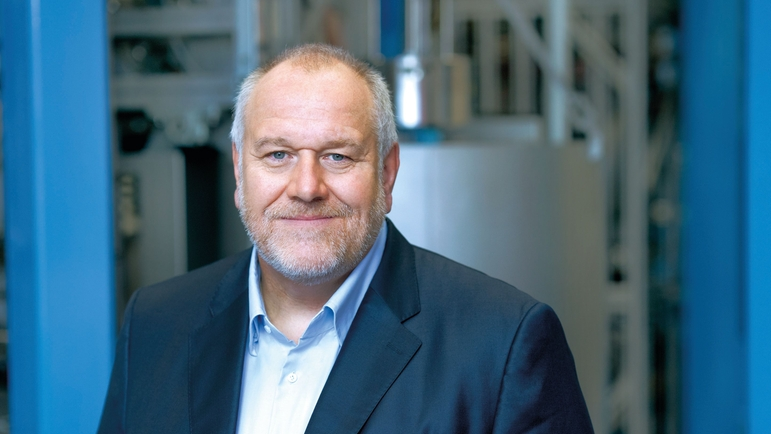 Matthias Altendorf, CEO of the Endress+Hauser Group